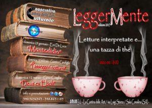 """LeggerMente, letture interpretate e… una tazza di thè"". Edizione 2017"