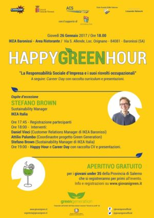 Sostenibilità, giovani e lavoro: IKEA Baronissi ospita il quinto Happy Hour del progetto Green Generation